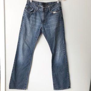 Calvin Klein Boot Cut Denim Blue Jeans 32